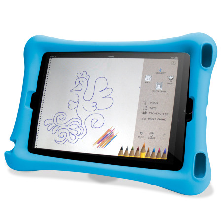 Encase Big Softy Child-Friendly iPad Air 2 Case Hülle in Blau