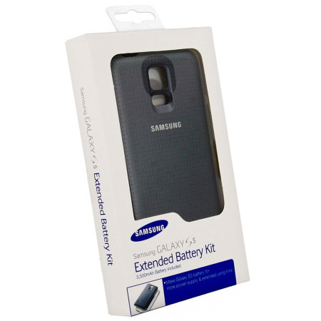 official samsung galaxy s mah extended battery and cover black p