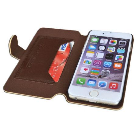 Create and Case iPhone 6S Plus / 6 Plus Book Case - Grandma's Quilt