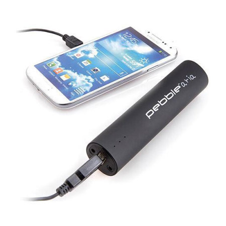 Veho Pebble Aria 3,500mAh Portable Charger & Speaker - Black