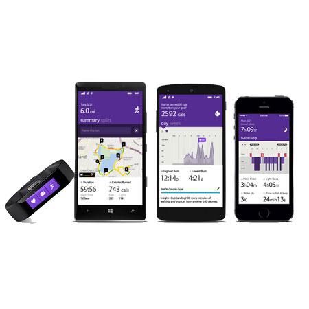 Microsoft Band iOS, Android & Windows Phone Activity Tracker - Medium