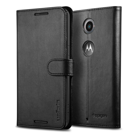 Spigen Google Nexus 6 Wallet S Case - Black