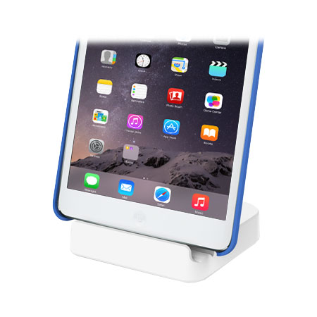 Base Dock para iPad con conexión Lightning - Blanca