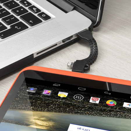 Porte-Clés Olixar Charge et Synchronisation Micro USB et Lightning