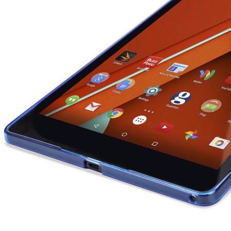 Encase FlexiShield Nexus 9 Gel Case - Dark Blue