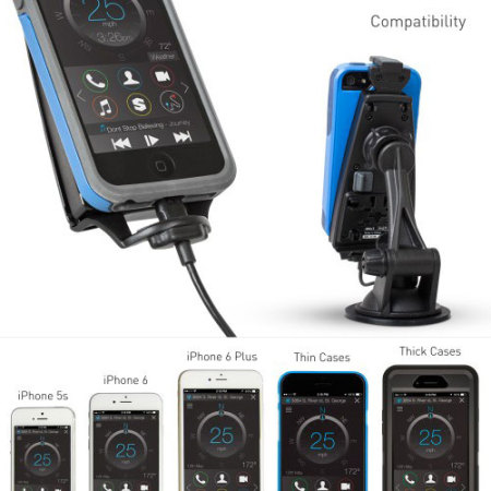and ibolt ipro2 mfi iphone 7 6 5 series active car holder wait