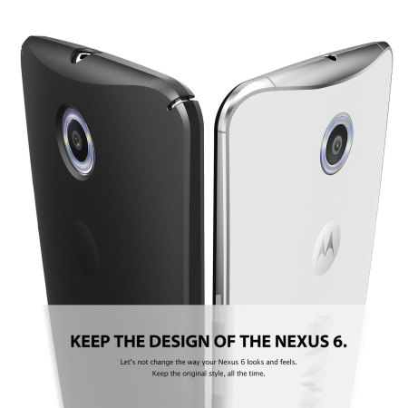 Rearth Ringke Slim Nexus 6 Case - Black