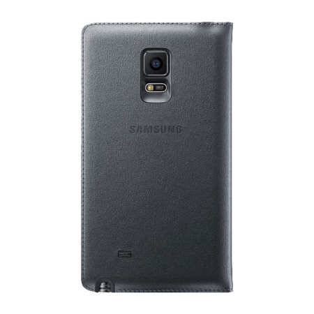Official Samsung Galaxy Note Edge Flip Wallet Cover - Black
