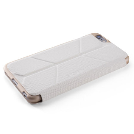 online retailer 1ee6a 2f56e ElementCase Soft-Tec iPhone 6S Plus / 6 Plus Wallet Case - White Gold