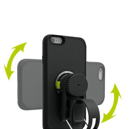 Kisomo ViDA iPhone 6S Plus / 6 Plus Bike Mount and Case - Black