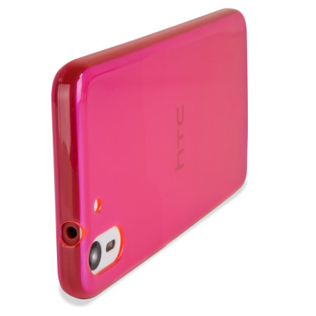 Encase FlexiShield HTC Desire Eye Gel Case - Hot Pink