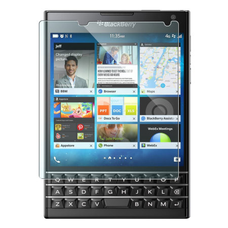 Rearth Invisible Defender 4 Pack BlackBerry Passport Screen Protector