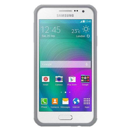 Official Galaxy A3 Protective Cover Plus suojakotelo - Vaaleanharmaa