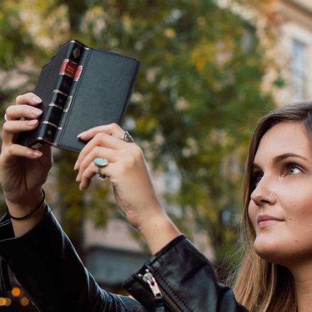 Twelve South BookBook iPhone 6S Plus /6 Plus Leather Wallet Case Black
