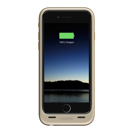 Mophie MFi iPhone 6S / 6 Juice Pack Air Battery Case - Gold