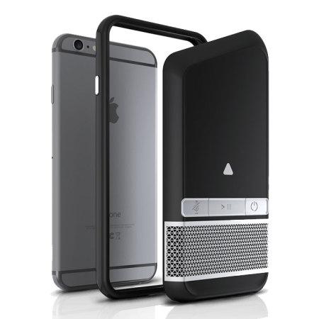 Zagg Power Sharing iPhone 9 Speaker Case - Black