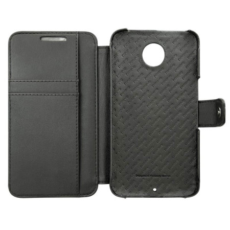 Noreve Tradition B Nexus 6 Leather Case - Black