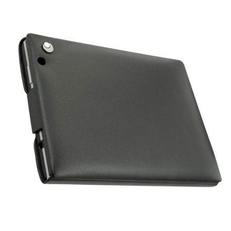 Noreve Tradition BlackBerry Passport Leather Flip Case - Black