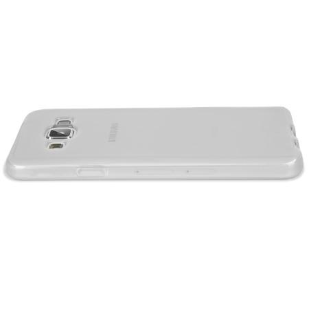 Olixar FlexiShield Samsung Galaxy A3 2015 Case - Frost White