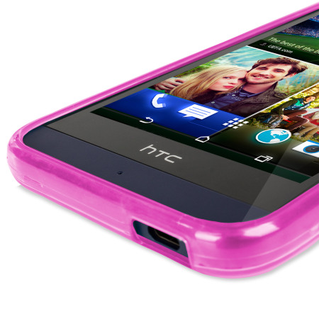 Olixar FlexiShield HTC Desire 510 Case - Pink