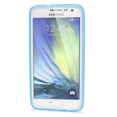 Olixar FlexiShield Samsung Galaxy A3 2015 Case - Light Blue