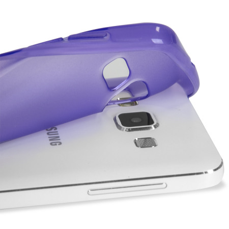 Olixar FlexiShield Samsung Galaxy A5 2015 Case - Purple