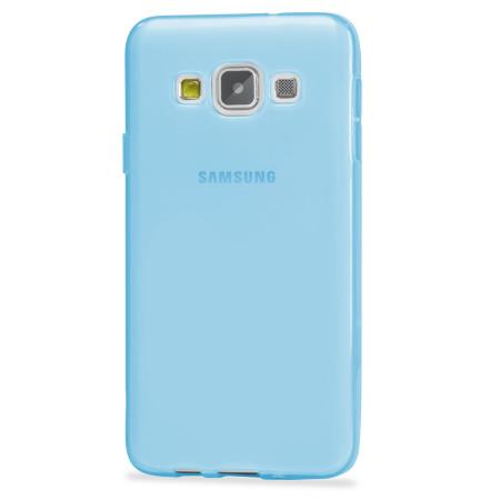 Encase FlexiShield Samsung Galaxy A7 2015 Gel Case - Light Blue
