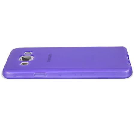 Encase FlexiShield Samsung Galaxy A7 2015 Gel Case - Purple