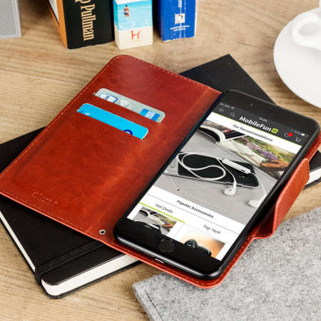 will encase rotating 5 5 inch leather style universal phone case brown the runs Android