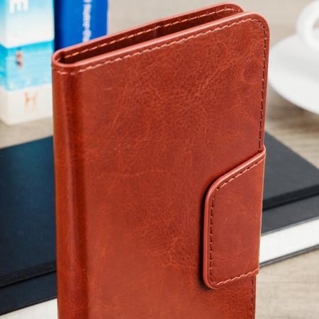 neuigkeit olixar rotating 5 5 inch leather style universal phone case black notification