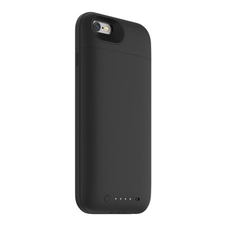 hot sale online 925b4 c2c77 Mophie MFi iPhone 6S / 6 Juice Pack Plus Rugged Battery Case - Black