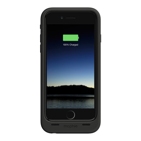 Mophie MFi iPhone 6S / 6 Juice Pack Plus Rugged Battery Case - Black