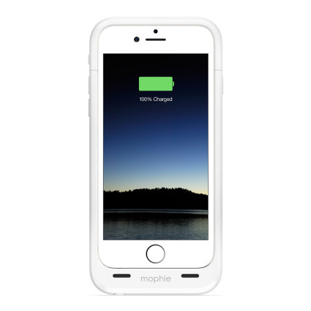 new arrival dd17b e00fb Mophie iPhone 6S / 6 Juice Pack Plus Rugged Battery Case - White