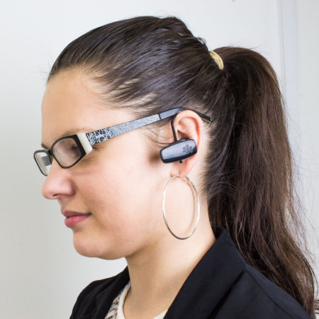 Official BlackBerry HS250 Universal Bluetooth Headset - Black
