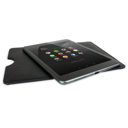 Nokia N1 Leather-Style Pouch Case - Black