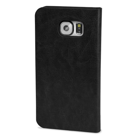Olixar Samsung Galaxy S6 Wallet Case - Black