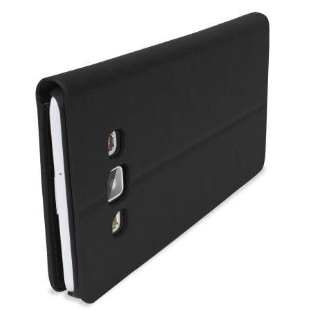 Encase Leather-Style Samsung Galaxy A7 2015 Wallet Case - Black