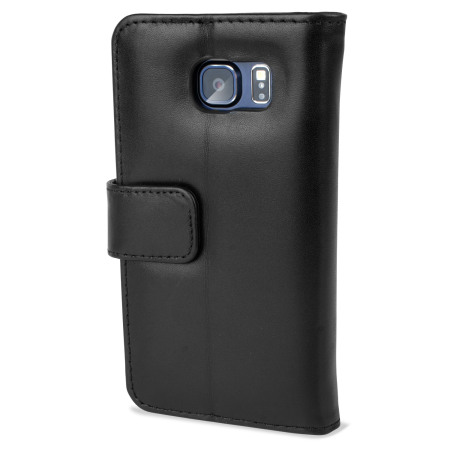 emulation, olixar premium genuine leather samsung galaxy s6 wallet case black the phone another