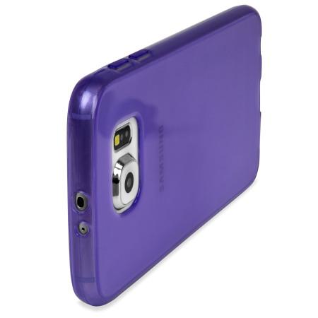 Olixar FlexiShield Samsung Galaxy S6 Gelskal - Lila