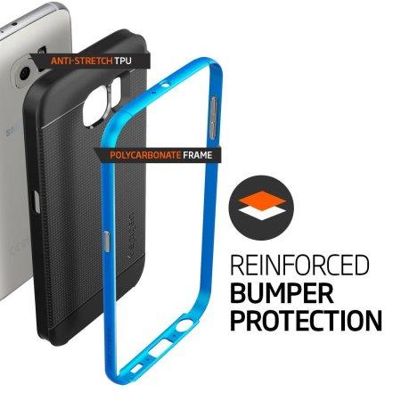 Spigen Neo Hybrid Samsung Galaxy S6 Case - Electric Blue