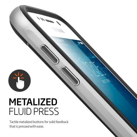 Coque Samsung Galaxy S6 Spigen SGP Neo Hybrid – Argent