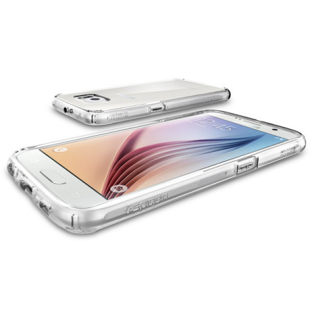 Spigen Ultra Hybrid Samsung Galaxy S6 Deksel - Klar