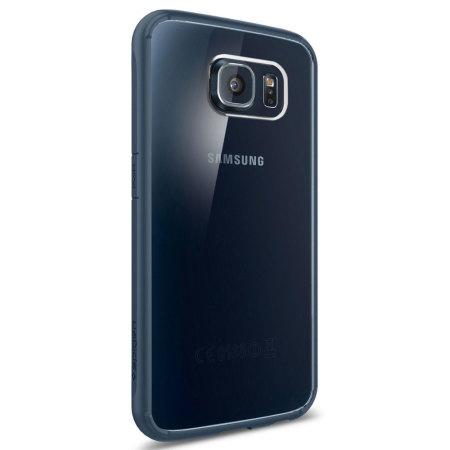 Spigen Ultra Hybrid Samsung Galaxy S6 Case - Metal Slate