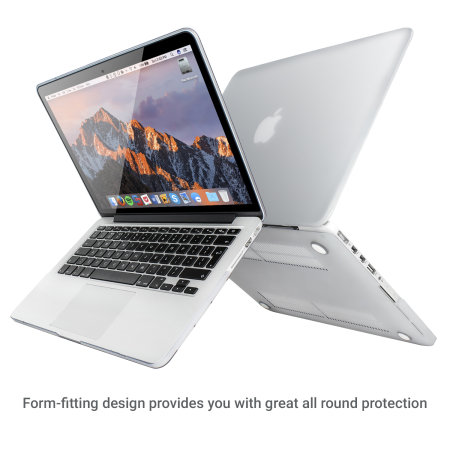 "Olixar ToughGuard MacBook Pro Retina 13"" Case (2012 To 2015) - Clear"