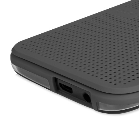 Official HTC One M9 Dot View Ice Premium Case - Onyx Black