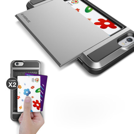 Verus Damda Slide iPhone 6S / iPhone 6 Case - Satin Silver