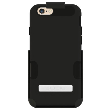 Seidio DILEX Pro Combo Apple iPhone 6S / 6 Holster Case - Black