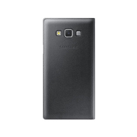 huge discount 24fc9 7f85a Official Samsung Galaxy A7 2015 S View Flip Cover - Black