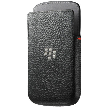 new product 141d8 e1df9 BlackBerry Classic Carrying Case Pouch - Black