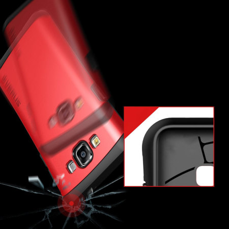 Verus Hard Drop Samsung Galaxy A7 2015 Case - Crimson Red